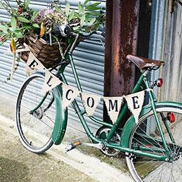 Uniek op de fiets