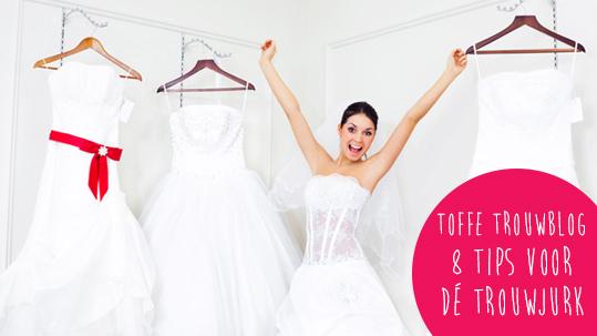 8 tips voor je zoektocht naar de trouwjurk